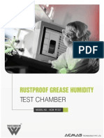 Rustproof Grease Humidity Test Chamber
