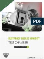 Rustproof Grease Humidity Test Chamber
