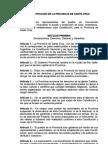 CONSTITUCION de la PROVINCIA DE SANTA CRUZ