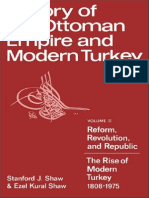 HIstory of the Ottoman Empire and Modern Turkey Vol. 2 (Stanford Shaw)