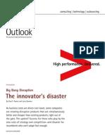 Accenture Outlook Big Bang Disruption Innovators Disaster