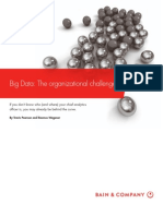 BAIN BRIEF Big Data the Organizational Challenge