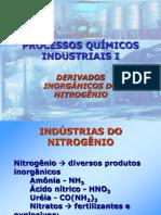 PQI I - 2 - Derivados Inorganicos Do Nitrogenio