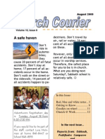 The Church Courier, August 2009