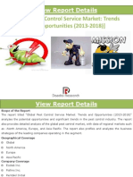 Global Pest Control Services Market