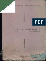 Kashmir Shaivism - Jagdish Chatterjee KSTS