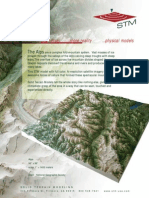 Physical models of complex fold-mountain system of the Alps from STM-USA