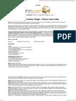 Pressure Cooker Magic- Choco Lava Cake