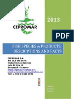 CEPROMAR S.A. COMPANY CATALOGUE 2013