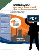ISA Portugal - Conferência 2013 - Programa Final