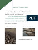 A POLUIÇÃO DOS RIOS E DOS LAGOS