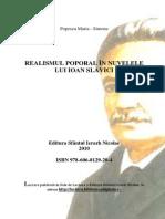 Realismul Poporal La Slaviciu