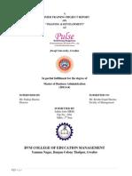 Ankita Summer Training Report on Training & Development