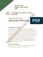 Programa Aplicaciones Clinicas PNL Sedes