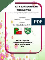 Cover Tonsilektomi
