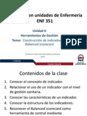 Clase Contruccion Indicadores Y Bsc Fracción Matemáticas