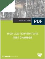 High Low Temperature