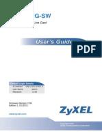 zyxel ALC1372G-SW user guide
