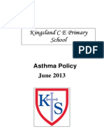 Asthma Policy July 2013
