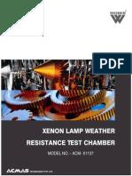 Xenon Lamp Weather Resistance