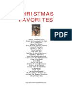 [Sheet Music] Christmas - Favourites Collection(Piano & Guitar)