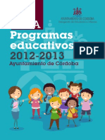 Guia Programas Educativos