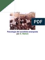 A Hamon - Psicologia Del Socialista Anarquista