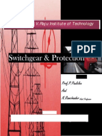 Introduction to Protection Switchgear & Protection Unit 1