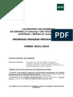 Calendario Alumno Uned Derecho 2013