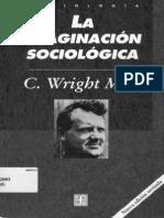 La Imaginacion Social C. Wright Mills