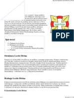 Lectio Divina – Wikipedia, wolna encyklopedia