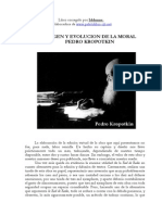 Pedro Kropotkin - Origen y evoluci+¦n de la moral
