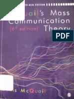 McQuail Communication Theory