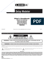 LINE 6 DL4 DELAY MODELER Manual