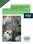 Lloyds Marine Pollution Checklist