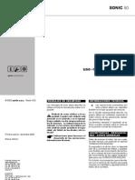 Aprilia Sonic 5o Manual Usuario Mantenimiento