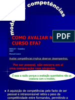 EFA Avaliacao