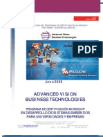 Catalogo de Cursos de Certificacion Microchip Por Temas de Especializacion