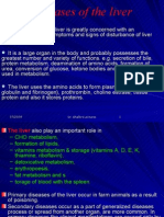Liver & pancreatic diseases in animals