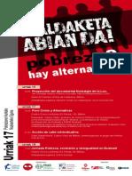 Pobreziaren Aurkako Nazioarteko Eguna / Dia Internacional contra la pobreza - Bizkaia