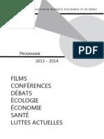 Programme 2013 2014