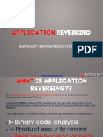 Entersoft Application Reversing Service