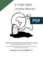 Warrens Flyer 2013