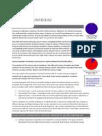 Chemistry - Homework - Enriched Uranium