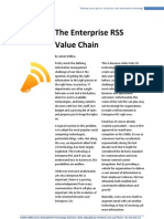 The Enterprise RSS Value Chain
