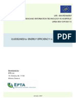 GUIDELINES for ENERGY EFFICIENCY in HOSPITALS