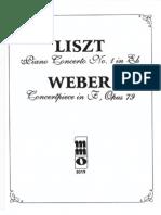 Liszt Concerto Eb