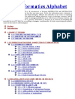 IT - Informatics Alphabet