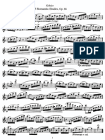 Köhler, Ernesto - 25 Romantic Etudes Op. 66