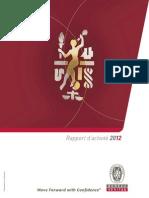 BUREAU-VERITAS 2012 Bureau Veritas Rapport Activite 2012 FR